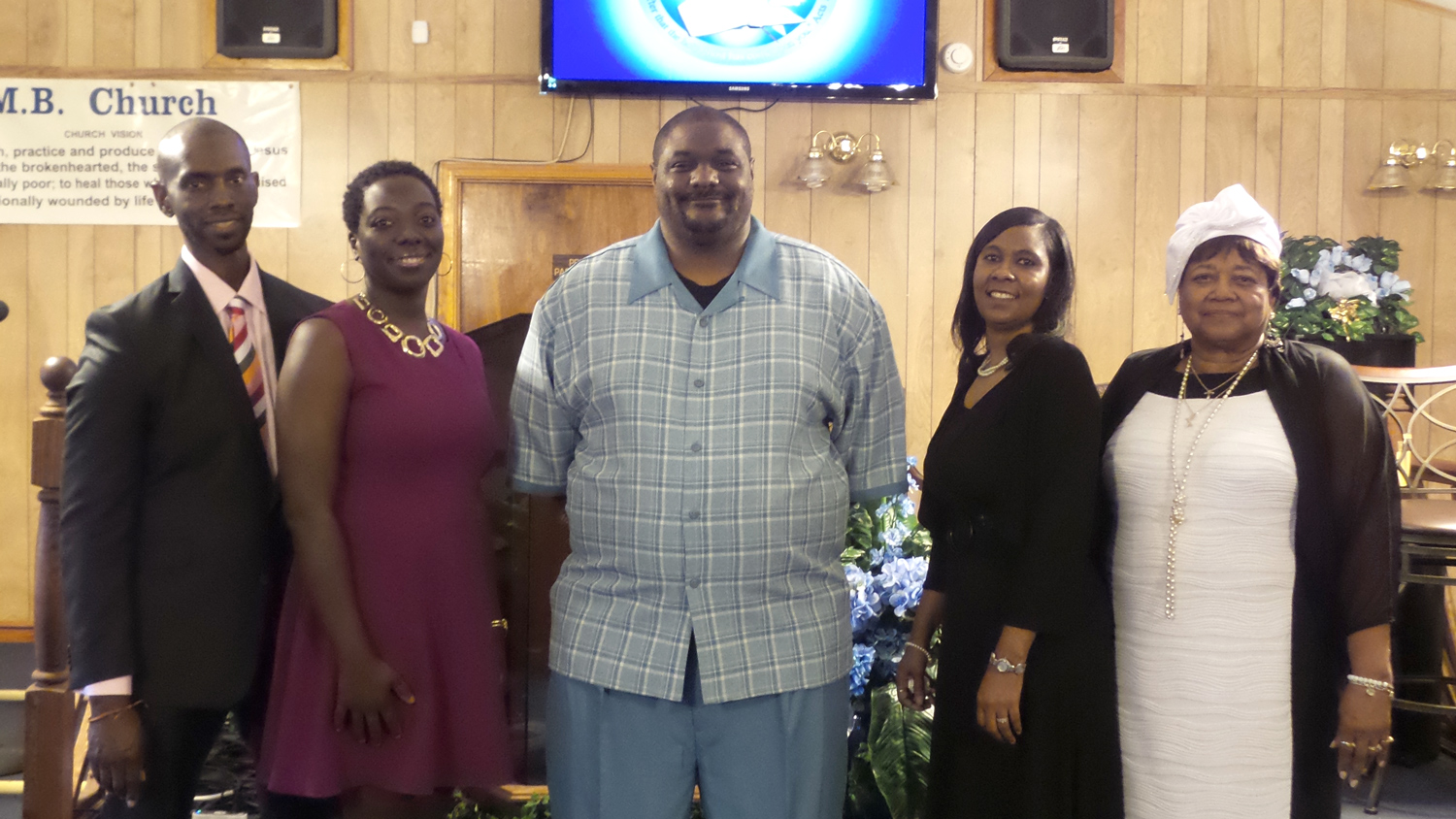 From left to right: Alonzo Brooks and Paytreen Davidson Brooks (West Point, MS); MC Hilson Jr. (Clarksdale, MS); Teresa Jones (Winona, MS); and Georgia R. Boss (Clarksdale, MS)